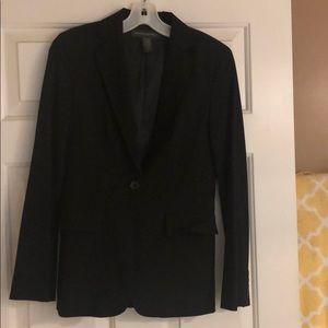 Size 2 banana republic suit coat black